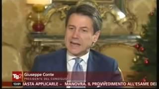 Intervista del Presidente Conte al TG2