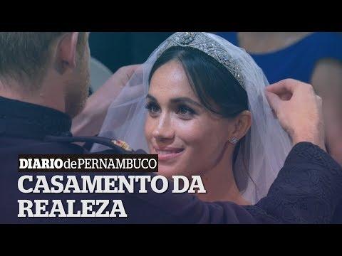Harry e Meghan se casam em cerimônia emocionante