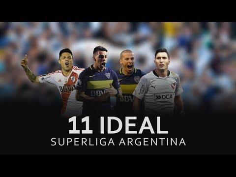 11 Ideal Del Futbol Argentino. Mejor Jugador Puesto X Puesto.