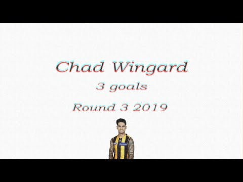 Chad Wingard 3 goals Hawthorn debut! | Round 3 2019