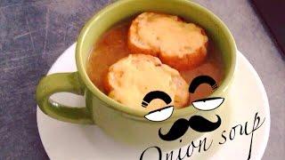 Французский луковый суп   Onion soup