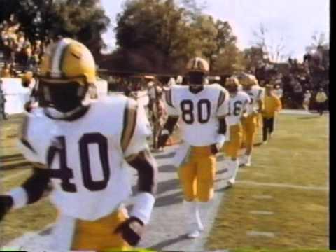 LSU football highlights 1970-82