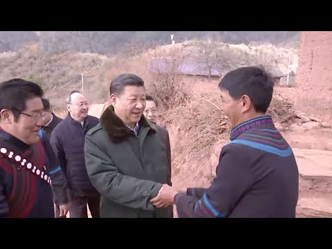 Xi visits poverty-stricken villages in Sichuan Province