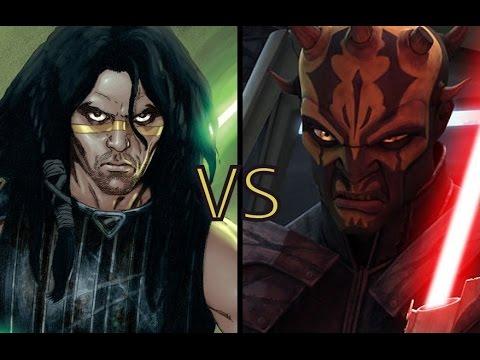 Star Wars Versus Series: Quinlan Vos vs Savage Opress