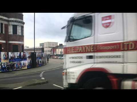 H E Payne Transport Ltd - Running over camera crew