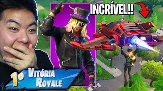 I BOUGHT THE * NEW SKIN * OF THE ROCKER AND VENCI!! [DELTA WING INCREDIBLE!] -Fortnite Battle Royale