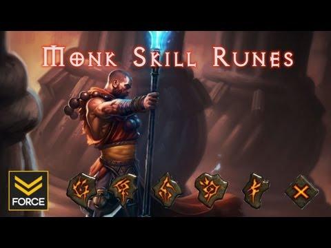 Diablo 3 Beta - Monk Skill Runes