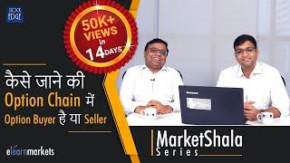 कैसे जाने की ऑप्शन चैन में Option Buyer है या Seller