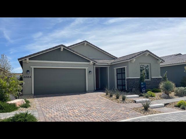 New Homes For Sale North Las Vegas | Del Webb at North Ranch | 55+ Community  Haven Home Tour $393k+