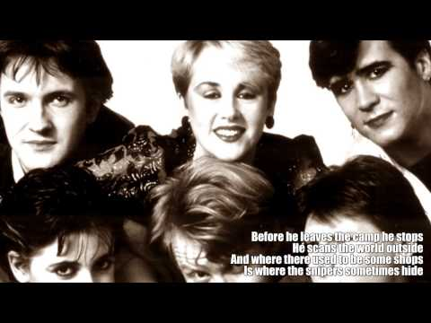 The Lebanon- The Human League- Extended Version- Lyrics- HD