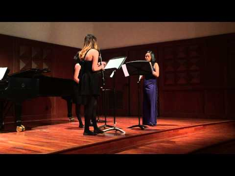 Sandy Chat, Holly Hu, Elena Sloman | Beethoven Trio in C major, Op. 87