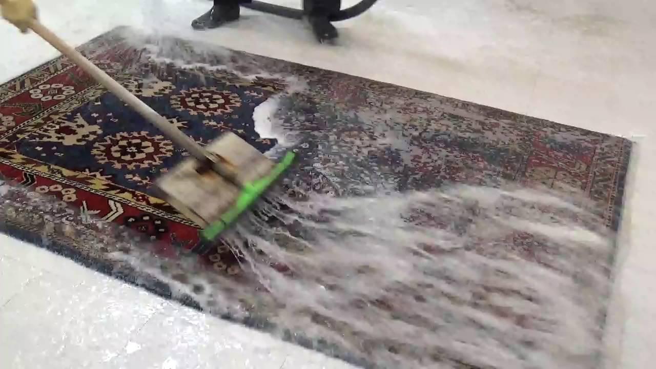 Limpieza alfombra persa heriz alfombras rahmati 21 youtube - Limpieza alfombras persas ...