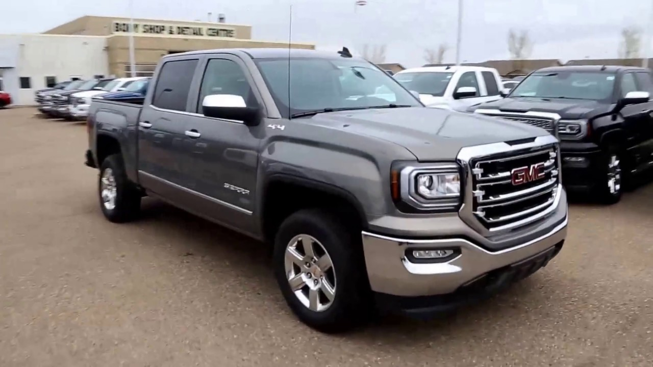 2017 Sierra Lifted >> Pepperdust Metallic 2017 GMC Sierra 1500 SLT for sale in Medicine Hat, AB! - YouTube