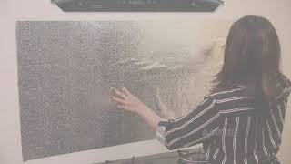 Waterproof Oil Proof Aluminum Foil Self Adhesive Wall Sticker