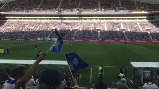 FCPorto vs Estoril - Entrada das equipas
