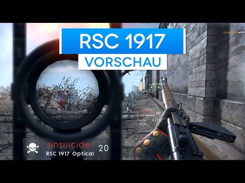 RSC 1917 - Battlefield 1 They Shall Not Pass DLC Waffen Vors