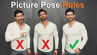 How To Look Good in EVERY Picture! (10 Picture Posing Rules)