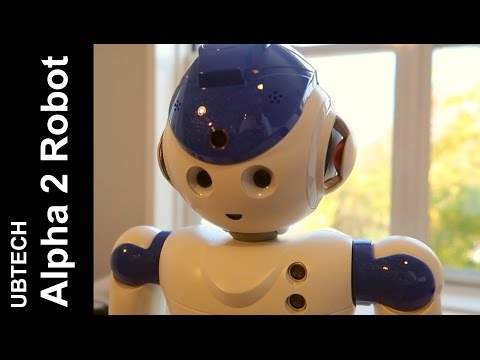 Ubtech Alpha 2 Humanoid Robot Unboxing, Setup and Review