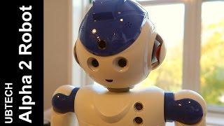 Ubtech Альфа-2 гуманоїда робота розпакування, установка і огляд