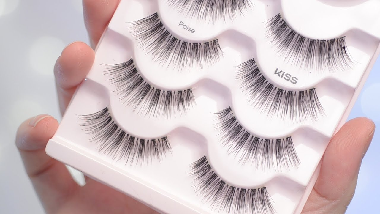b4bc0c647e3 Kiss Looks So Natural Lashes in POISE Try on & Review | CORRIE SIDE ...