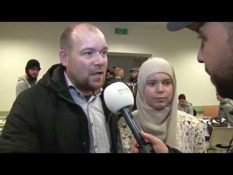 Salaheddine bezoekt de Nationale Bekeerlingendag
