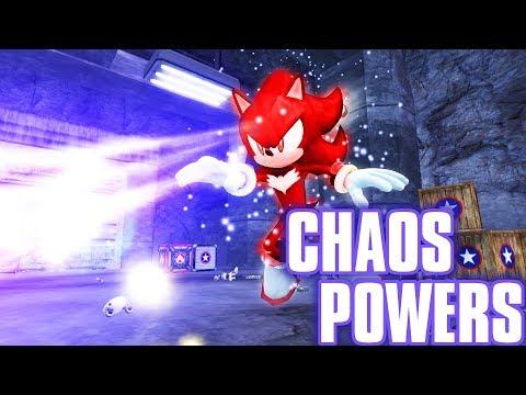 Shadow the Hedgehog's Chaos Powers |