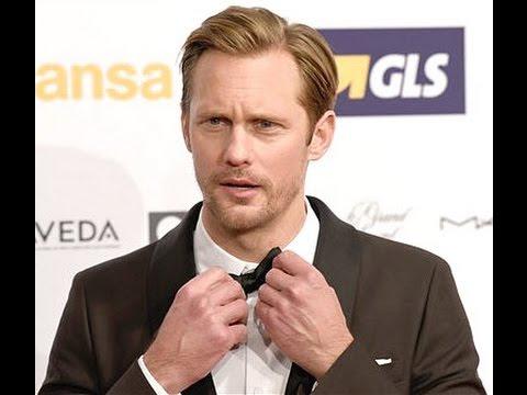 Alexander Skarsgård at the European Film Awards in Berlin Dec 12, 2015