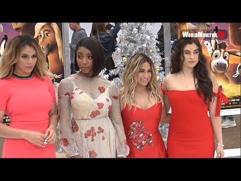 Fifth Harmony arrive at 'The Star' Los Angeles film premiere