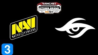 Navi vs Secret Game 3 MC Autumn Brawl Highlights Dota 2