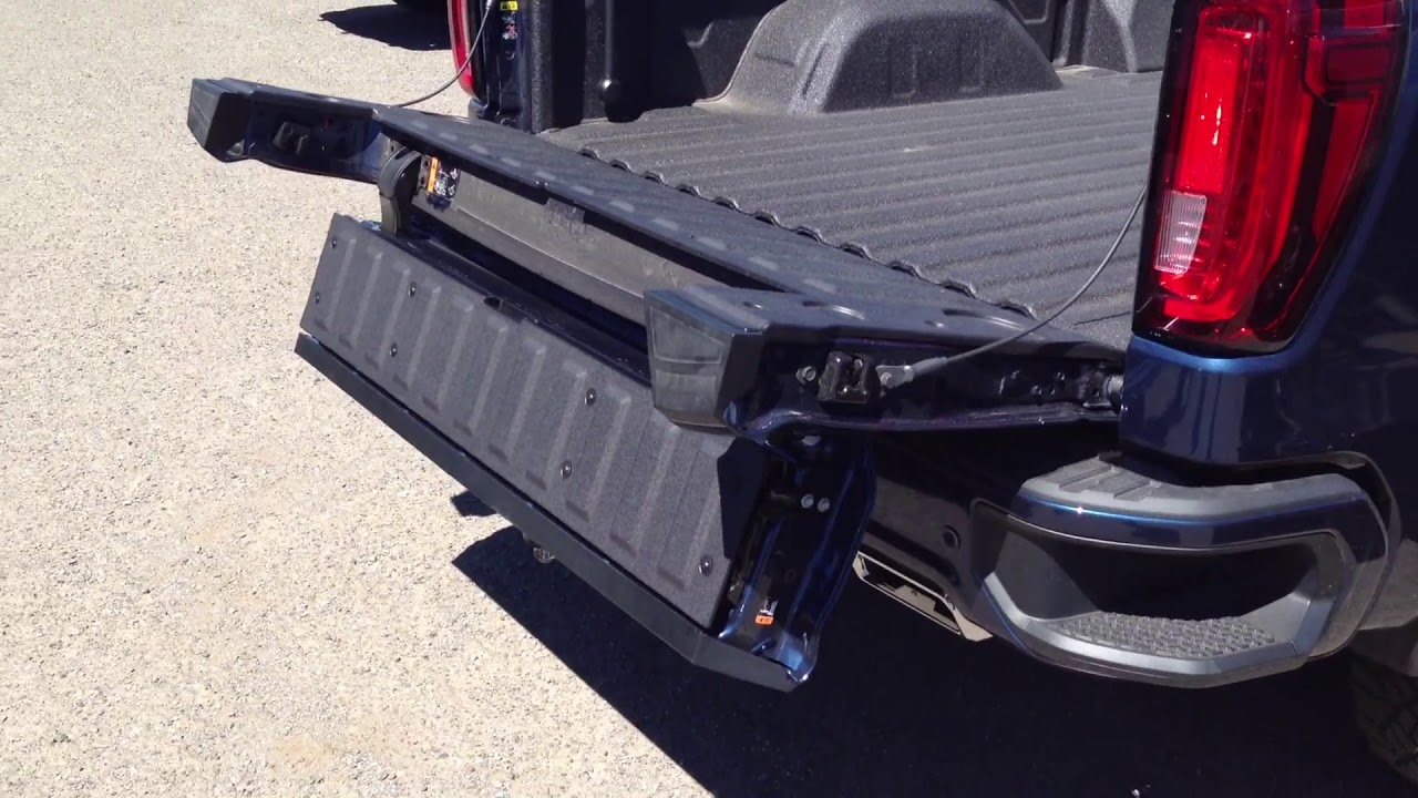 Gmc Sierra Multipro Tailgate Hitch Issue Youtube