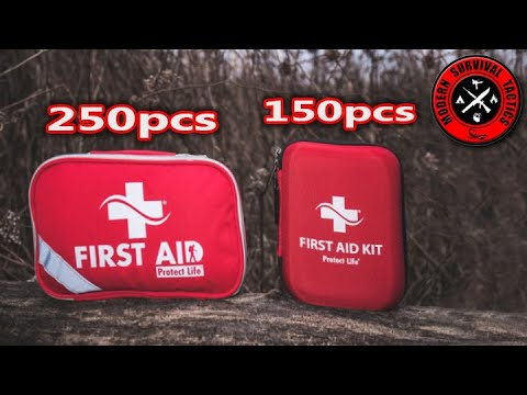 Protect Life First Aid Kit Review / 150 & 250 ITEMS