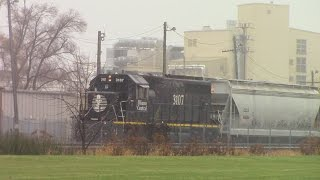 Railfanning Journal 23 A Rainy Day In Fond du Lac