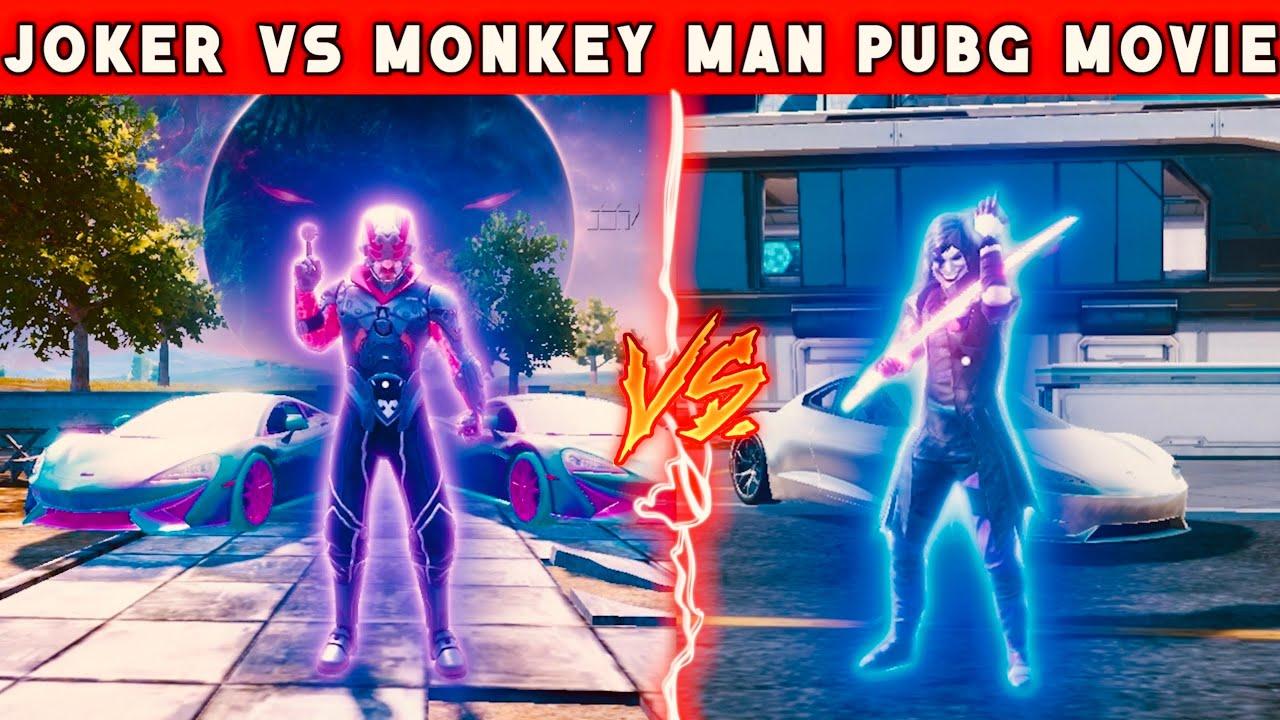 Joker Vs Monkey Man | Pubg Short Film | Pubg Movie | Short Film BGMI New Tesla Series