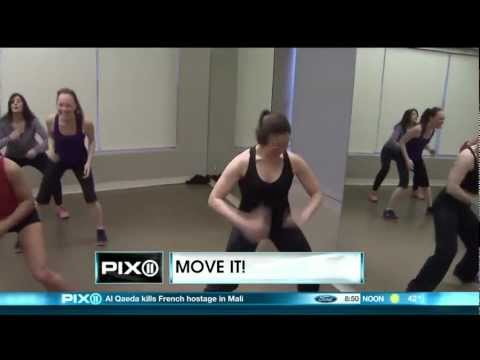 CLAY Health Club + Spa featured on WPIX Morning News