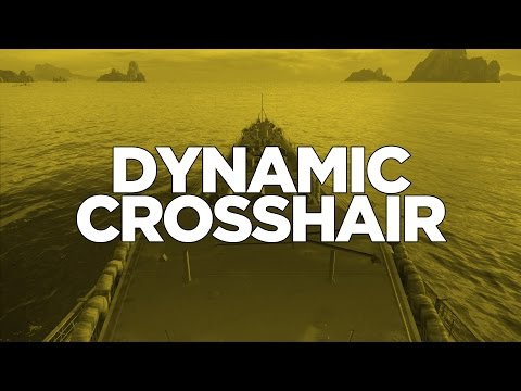 World of Warships - Dynamic Crosshair