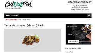 How to download PNG and PSD files!