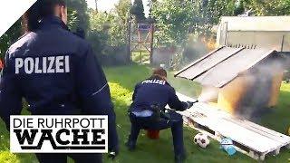 Hundehütte in Flammen: Warum wurde das arme Tier vergiftet? | Die Ruhrpottwache | SAT.1 TV