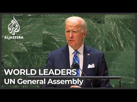 World leaders speak at United Nations General Assembly
