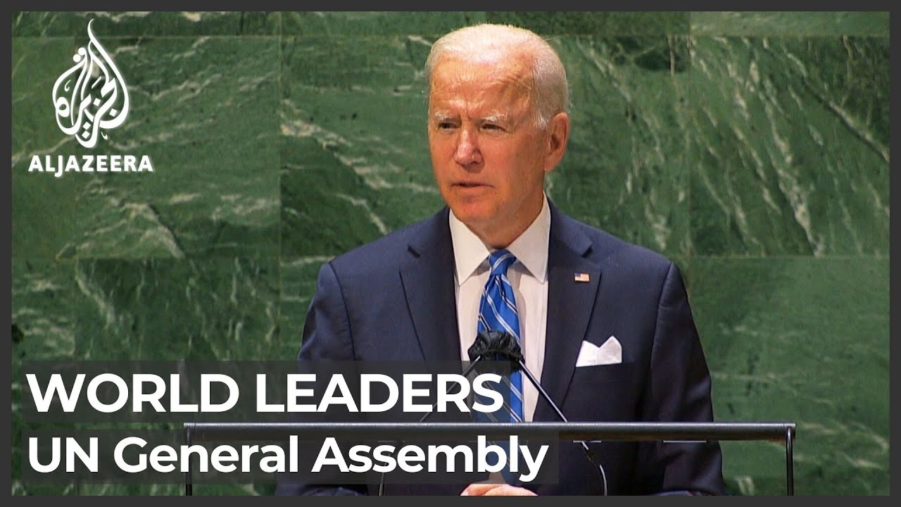 Download World leaders speak at United Nations General Assembly