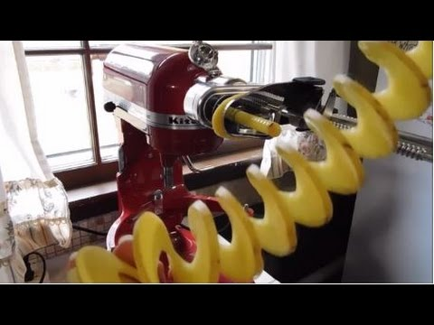 kitchenaid pasta press attachment manual