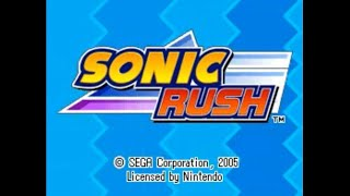Sonic Rush (DS) - Longplay