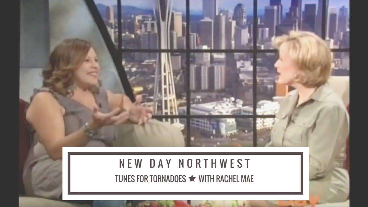 Rachel Mae on New Day Northwest, June 2011