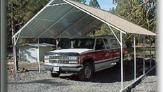 Metal Carport Garage Plans