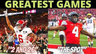 Top 50 College Football Games Of The Decade (2010-2019)