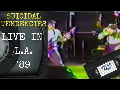 Suicidal Tendencies Live in Los Angeles CA 1989 Concert