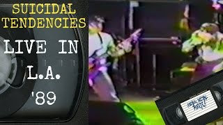 Download Suicidal Tendencies Live in Los Angeles CA 1989 Concert MP3 song and Music Video