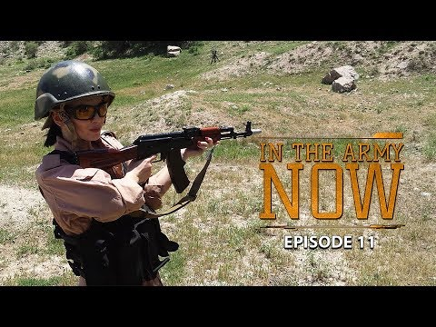 Operating giant telescopes and looking for UFOs - In The Army Now Series Ep. 11
