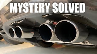 C5 Exhaust Mystery Solved