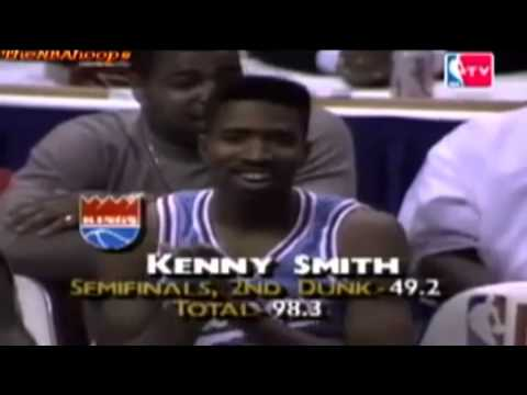 Kenny Smith - 1990 NBA Slam Dunk Contest