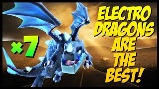 Th11 Electro Dragon War Attack Strategy | Clash of Clans